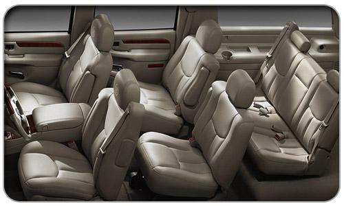 6 Passenger Cadillac Escalade ESV